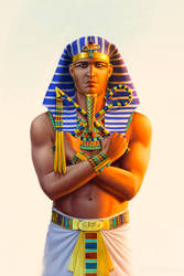 Alexander, son of Amun by JFoliveras