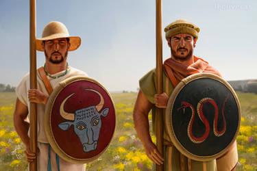 Macedonian phalangites by JFoliveras