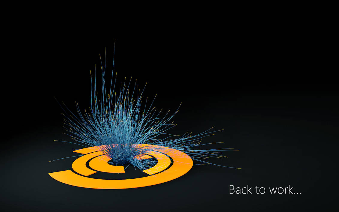 Thinking particle system test by Holowood
