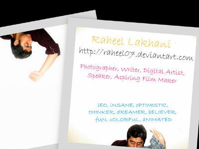 raheel07's Profile Picture