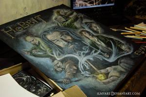 The Hobbit by ilmyart