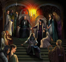 The royal court of Thingol by steamey