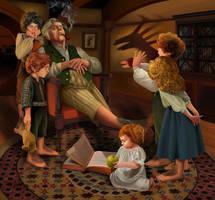 The bad nanny (hobbits) by steamey