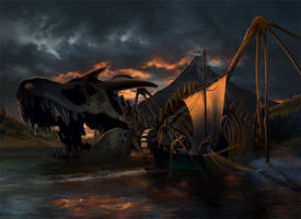 Bones of Smaug by steamey