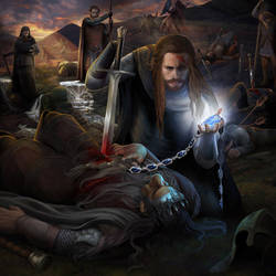 Death of the Lord of Nogrod by steamey