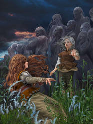 Blood of Elves / Chapter 3 by steamey