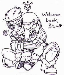 FF9 - Marcus x Blank welcome back bro by Cloud-Kitsune