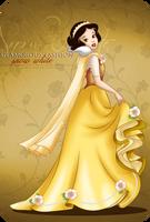 Glamorous Fashion - Snow White by tiffanymarsou