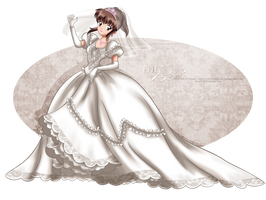 Commission - the Bride by tiffanymarsou