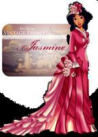 Vintage Princess -Jasmine by tiffanymarsou
