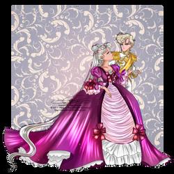Neo Queen Serenity and Lady Uranus by tiffanymarsou