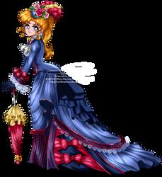 Vintage Lady - Usagi by tiffanymarsou