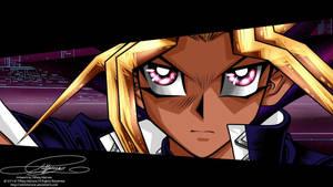 Screencap re-draw- Yu Gi Oh by tiffanymarsou