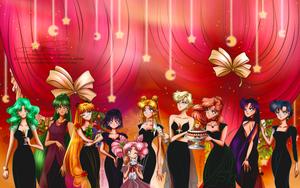Christmas party by tiffanymarsou