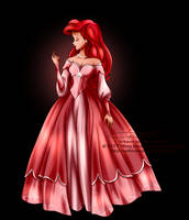 Disney Haut Couture - Ariel by tiffanymarsou