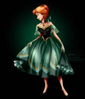 Disney Haut Couture - Anna by tiffanymarsou