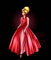 Disney Haut Couture - Lottie by tiffanymarsou