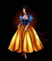 Disney Haut Couture - Snow White by tiffanymarsou
