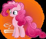 Pinkie -fabulous mane- Pie by tiffanymarsou