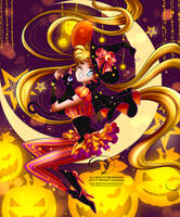 Halloween Moon by tiffanymarsou