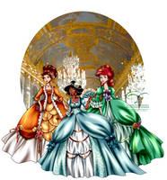 Court of Versailles II by tiffanymarsou