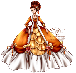 Court of Versailles - Belle by tiffanymarsou