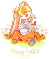 Easter Bilbies by tiffanymarsou