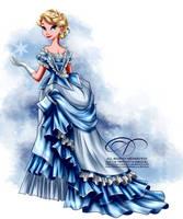 Vintage Ballgown - Elsa by tiffanymarsou