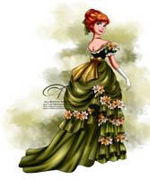 Vintage Ballgown - Anna by tiffanymarsou