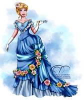 Vintage Ballgown - Aurora by tiffanymarsou