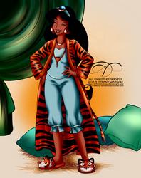 Commission - Sleepwear for Jasmine by tiffanymarsou
