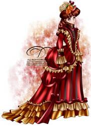Commission - Vintage Lady Julia by tiffanymarsou