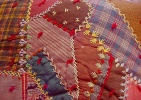 Crazy Quilt Patches by LilyWyte