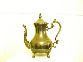 Antique Silver Teapot by LilyWyte