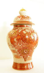 Chinese Ginger Jar by LilyWyte