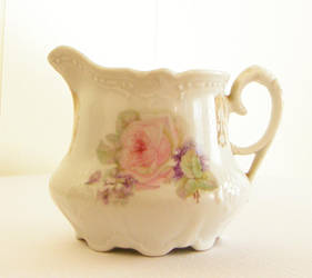 Antique Creamer by LilyWyte