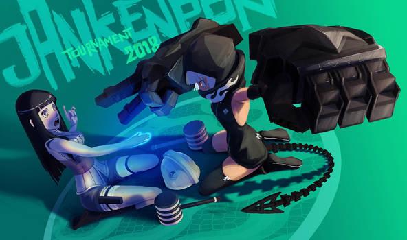 Rock Paper Scissors: Hinata VS Strenght by InnocentPrime