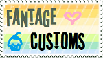 Fantage Customs stamp owo by crazycupcakecat