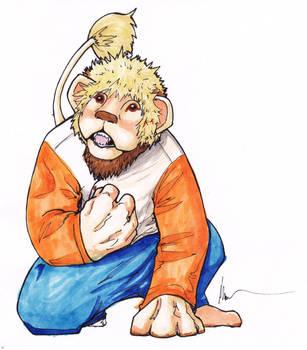 Lion Man by AkuTaco