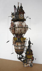 Clock tower_01 by Raskolnikov0610