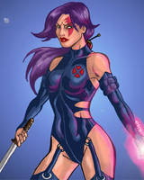 X-Treme Psylocke by Serge80