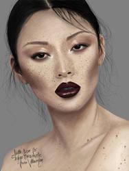 Asian Woman by VillainsLove