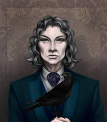 Fergus and the bird by VillainsLove