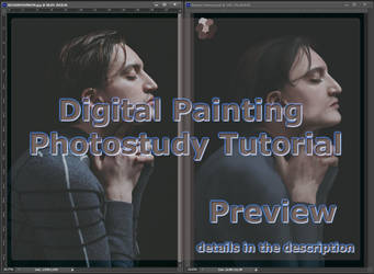 Digital Painting Tutorial Preview by VillainsLove