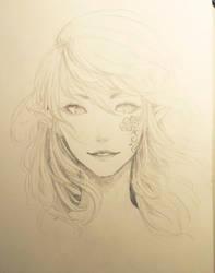 Flower Tattoo by Dori-tan