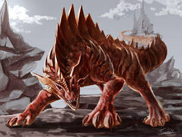 dinosaur by tomoki17