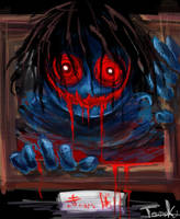 blue doll by tomoki17