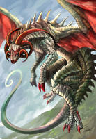 Sheep dragon by tomoki17