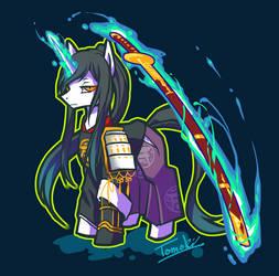 Tourabu : Taroutachi pony by tomoki17
