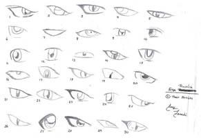 Eye Practice by jayshi